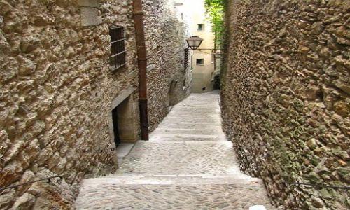 Zdjęcie HISZPANIA / Katalonia / Girona / dzielnica żydowska