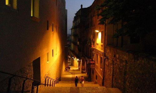 Zdjecie HISZPANIA / Katalonia / Girona / wieczorny spacer