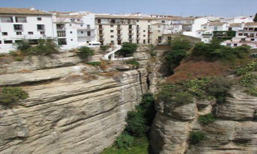 Zdjecie HISZPANIA / Andaluzja / Ronda / Życie na krawędzi