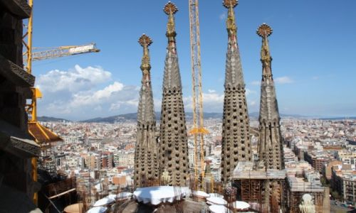 Zdjęcie HISZPANIA / - / Barcelona / Panorama Barcelony