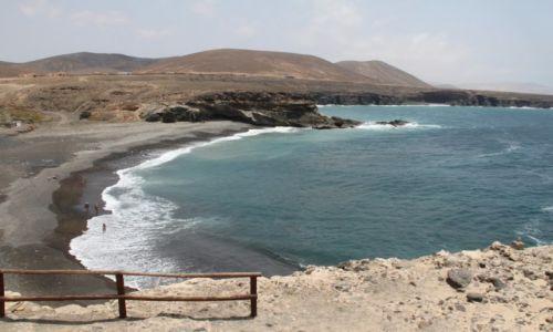 Zdjecie HISZPANIA / Fuerteventura / Ajuy / Czarna plaża