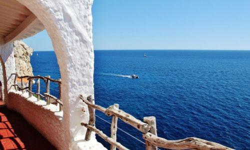Zdjęcie HISZPANIA / Minorka / Xoroi / Morze...