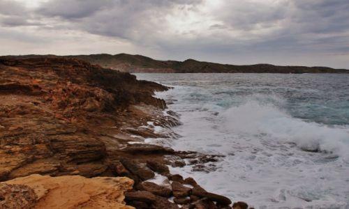 Zdjęcie HISZPANIA / Minorka / gdzieś na wybrzeżu / Będzie  burza...