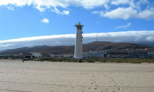Zdjecie HISZPANIA / Fuerteventura / Jandia beach / Nadciaganie