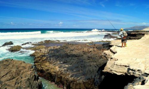 Zdjecie HISZPANIA / Wyspy Kanaryjskie / Fuerteventura / na rybach