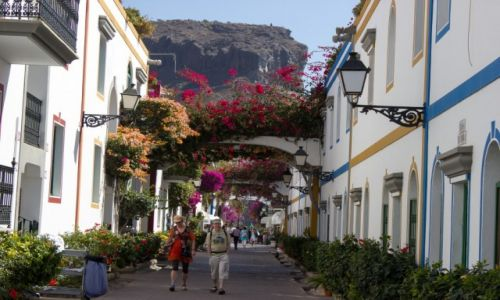 Zdjecie HISZPANIA / Gran Canaria / Puerto de Mogan / Kanaryjska Wenecja