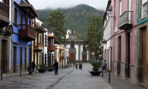 Zdjecie HISZPANIA / Gran Canaria / Teror / Miasteczko z duszä