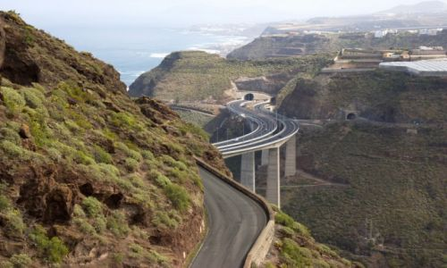 Zdjecie HISZPANIA / Gran Canaria / Cenobio de Valeron / Nad przepaścią