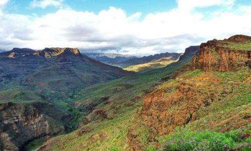 Zdjecie HISZPANIA / Gran Canaria / Gran Canaria / Przełęcz