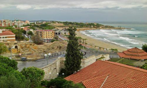 Zdjecie HISZPANIA / Katalonia / Taragona / Widok na plażę Taragony