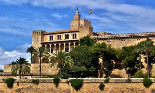 HISZPANIA / Majorka / Palma de Mallorca / Pa�ac de l ' Almudaina