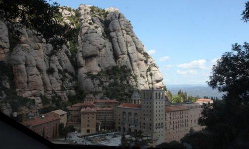 Zdjęcie HISZPANIA / Katalonia / Montserrat / Opactwo Benedyktynów w Montserrat