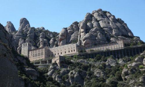 Zdjęcie HISZPANIA / Katalonia / Montserrat / Montserrat, widok ze stacji kolejki