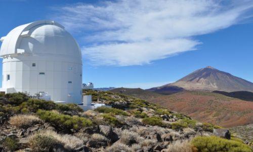 Zdjecie HISZPANIA / Wyspy Kanaryjskie / Teneryfa / Jedno z obserwatoriów pod wulkanem Teide