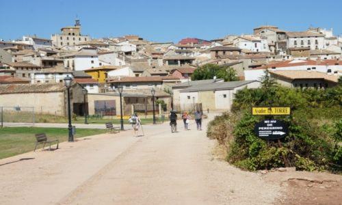Zdjęcie HISZPANIA / La Rioja / Asador La Torre / U bram miasta