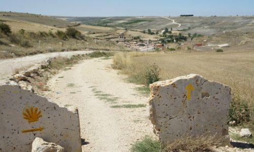 HISZPANIA / Castilla y Leon / Hontanas / Nie sposób zabłądzić