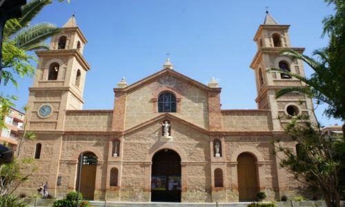 HISZPANIA / Alicante / Torravieja / Kościół Niepokalanego Poczęcia NMP - Iglesia Arciprestal de la Inmaculada Concepción
