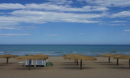 HISZPANIA / Alicante / Plaża wTorravieja / Przed sezonem