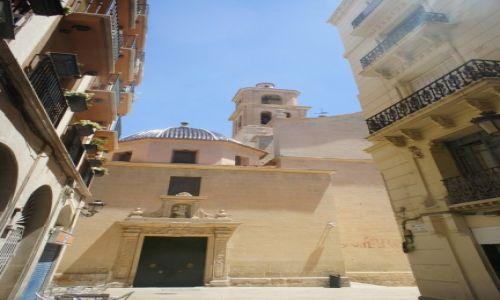 HISZPANIA / Wspólnota autonomiczna Walencja / Alicante / Concatedral de San Nicolás de Bari