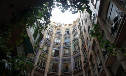 Zdjęcie HISZPANIA / Katalonia / Barcelona / Casa Mila od środka...