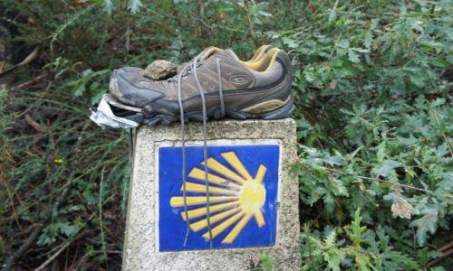 Zdjęcie HISZPANIA / Galicia / Camino de Santiago / Swoje juz przeszedł