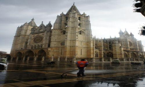 Zdjecie HISZPANIA / Leon / Leon / Katedra w Leon