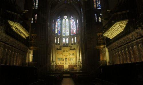 Zdjęcie HISZPANIA / Leon / Leon / Katedra w Leon, wewnątrz