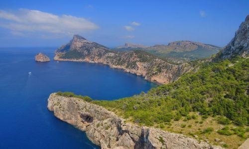 Zdjecie HISZPANIA / Majorka / Majorka / Cabo de Formentor
