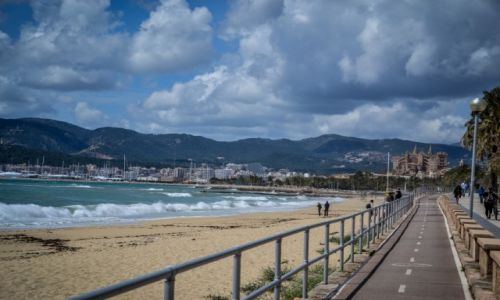 HISZPANIA / Majorka / Palma de Mallorca / w drodze do Palmy