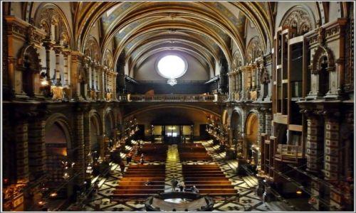 Zdjecie HISZPANIA / Katalonia / Montserrat / Klasztor benedyktyński