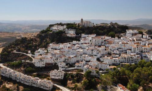 Zdjecie HISZPANIA / Andaluzja / Casares / Blanco pueblo