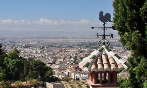 Zdjecie HISZPANIA / Andaluzja / Granada / Panorama