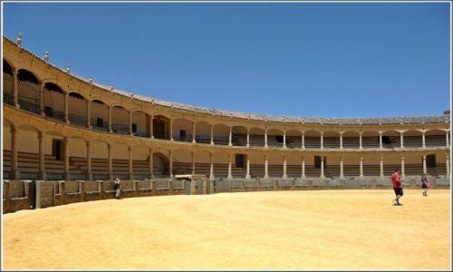 Zdjecie HISZPANIA / Andaluzja / Ronda / Plaza de Toros, Ronda