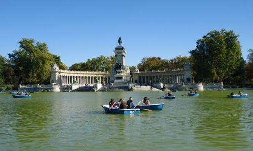 Zdjecie HISZPANIA / Madryt / Madryt / Park Retiro