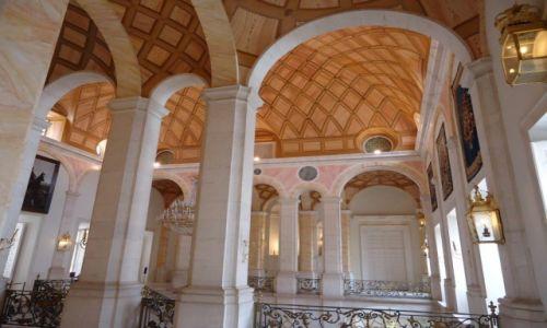 HISZPANIA / Madryt / Aranjuez / Pałac Królewski - wnętrza