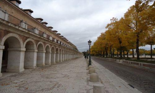 HISZPANIA / Madryt / Aranjuez / Ulice w Aranjuez