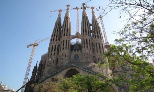 Zdjecie HISZPANIA / Katalonia / Barcelona / Kościół św. Rodziny