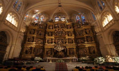 HISZPANIA / Kastylia i Leon (Castilla y León) / Burgos  / Katedra Najświętszej Maryi Panny w Burgos