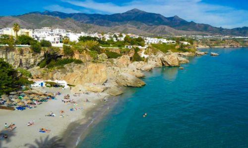 Zdjecie HISZPANIA / Andaluzja / Nerja / plażowanie w listopadzie 4
