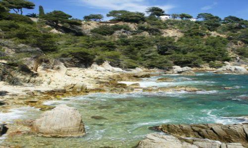 Zdjęcie HISZPANIA / Costa Brava / Lloret de Mar / Piękny, skalisty brzeg