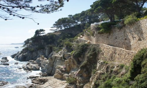Zdjecie HISZPANIA / Costa Brava / Lloret de Mar / Scieżka spacerowa