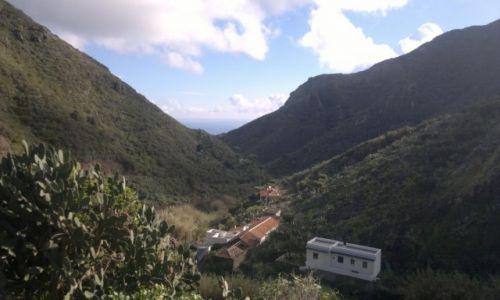 Zdjecie HISZPANIA / Teneryfa- Góry Anaga / Chamorga / jeszcze trochę i ocean...