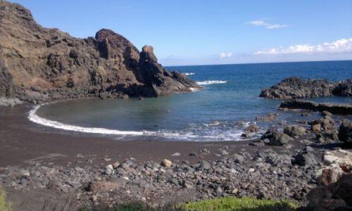 Zdjecie HISZPANIA / Wyspy Kanaryjskie- Teneryfa / plaża de Arena / rajska czarna plaża