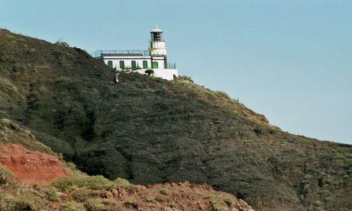Zdjecie HISZPANIA / Wyspy Kanaryjskie- Teneryfa / Góry Anaga / latarnia na końcu Teneryfy