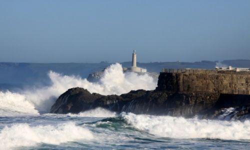 Zdjecie HISZPANIA / Santander / Santander / Latarnia morska w Santander