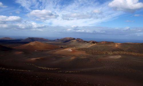 Zdjecie HISZPANIA / Wyspy Kanaryjskie / Lanzarote / wulkany 1