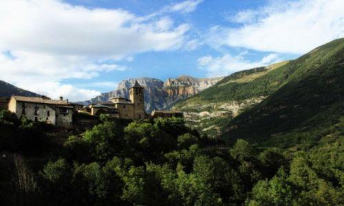 Zdjecie HISZPANIA / Aragonia / Torla / Pireneje...