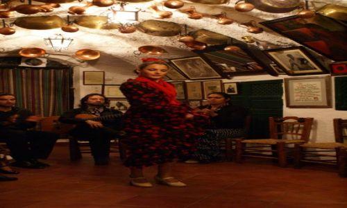 Zdjęcie HISZPANIA / Andaluzja / Granada/Sacromonte / Magia flamenco