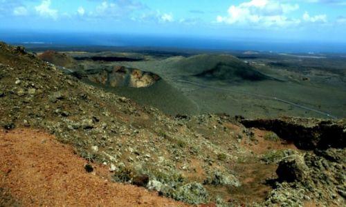 Zdjecie HISZPANIA / Wyspy Kanaryjskie / Lanzarote / Park Narodowy Timanfaya