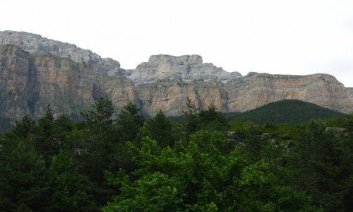Zdjęcie HISZPANIA / Pireneje hiszpańskie / okolice Torli / P.N. Ordesa y Monte Perdido